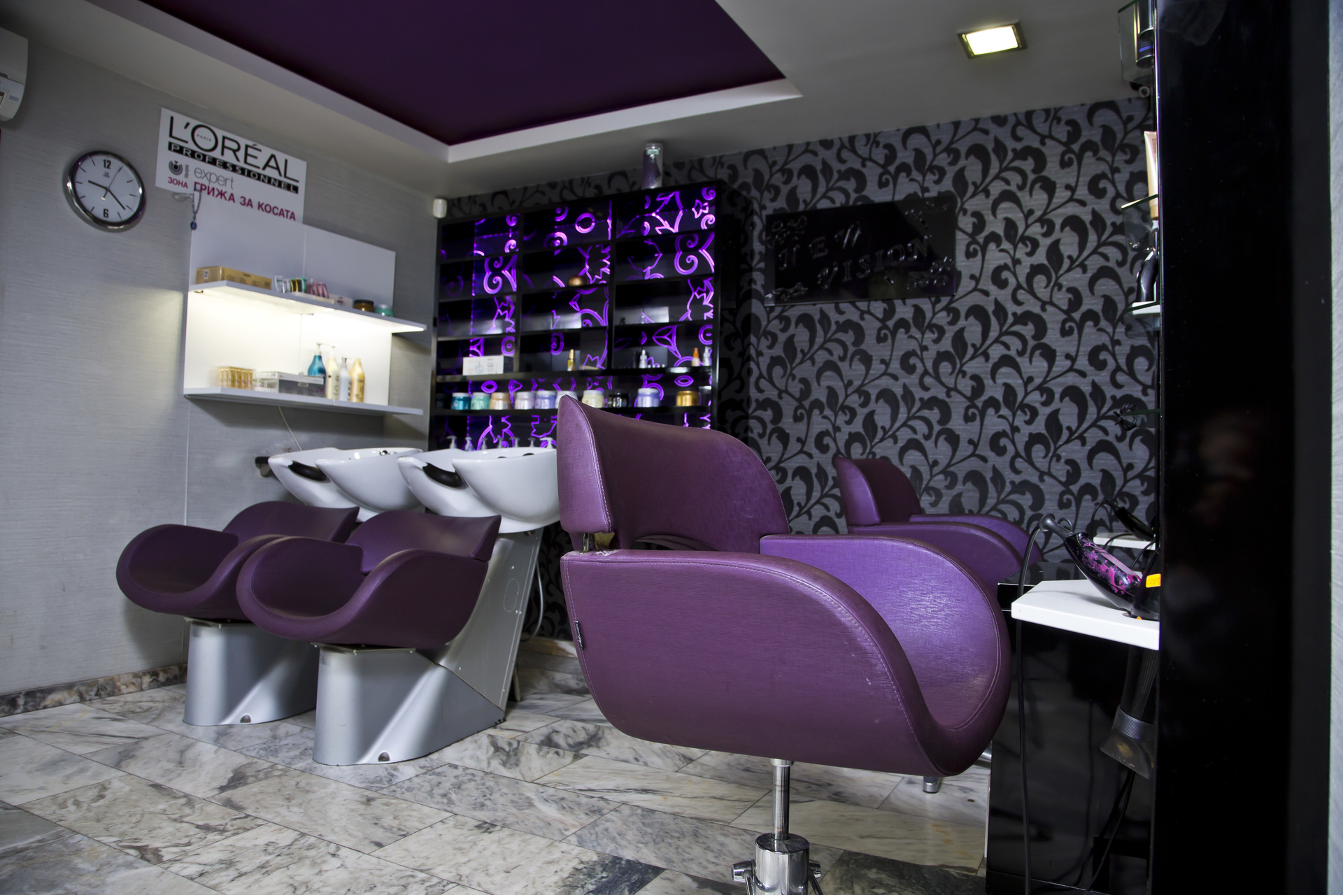 Mebelgroup shops a hair dressing salon vision sofia for A visionary salon